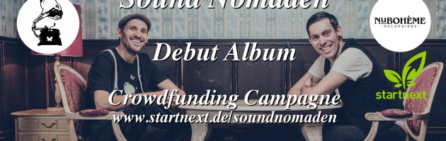 Debut Album Crowdfunding Campagne launched
