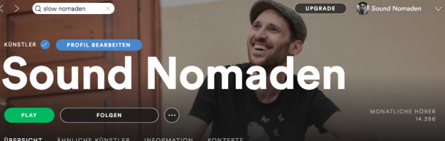Sound Nomaden Spotify Playlists