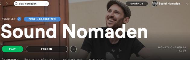 Sound Nomaden Spotify Playlists